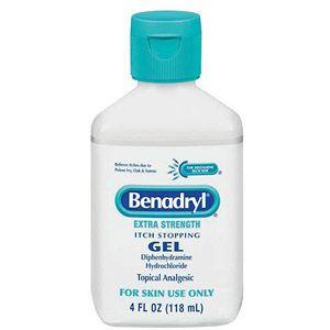 Warner Lambert Benadryl Itch Stopping Gel 4 Oz Walmart Com Benadryl Medical Supplies Gel