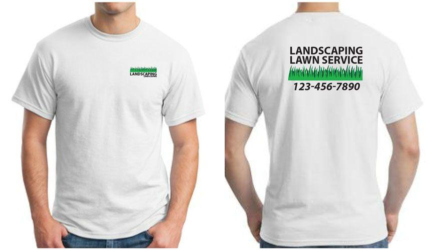 Custom Printed Landscaping Uniform Full Color Custom