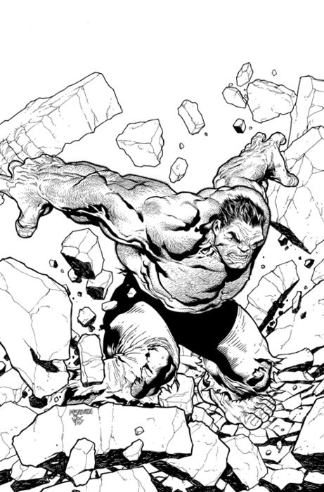 Hulk by Steve McNiven