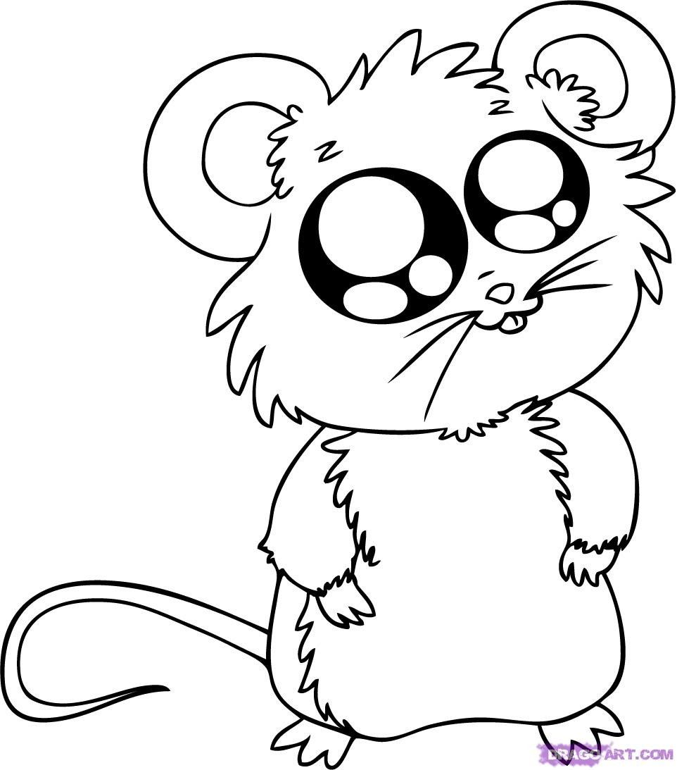 Coloring Pages Funny Animals : Funny cartoon animal coloring pages christmas memories