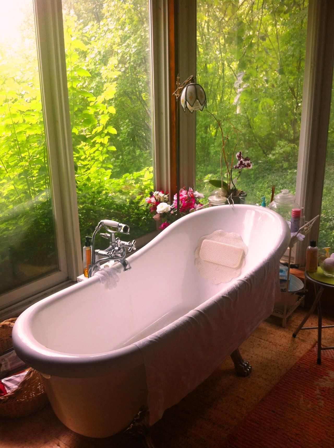 A Deep, Long Claw Foot Tub Is A Necessity