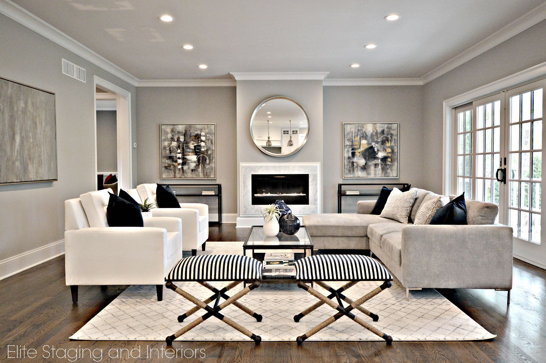 Fifty Shades of Gray Freed - Top Gray Paint Colors #indoorpaintcolors