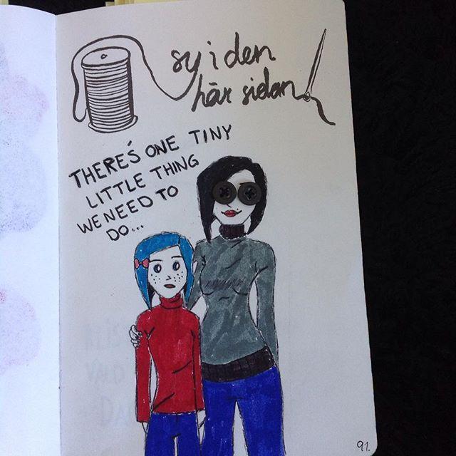 Wreck This Journal (Sabba Den Här Boken) - Sew This Page ...  Wreck This Journal Sew This Page