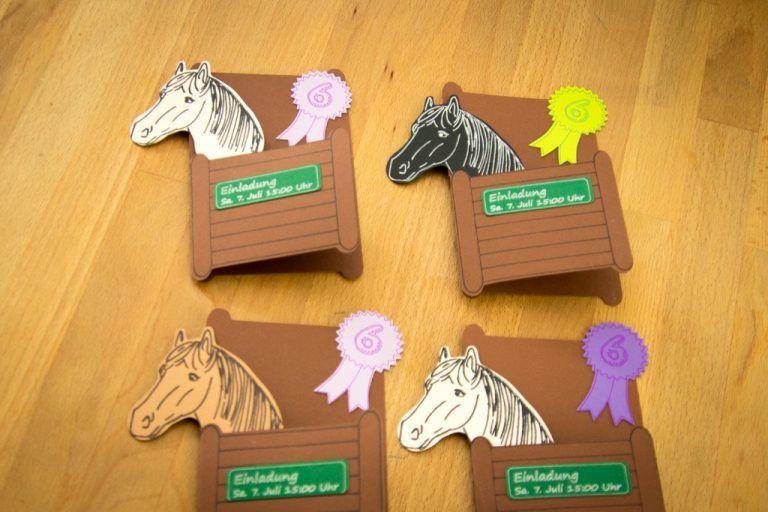 Photo of Einladung zum Pferdegeburtstag