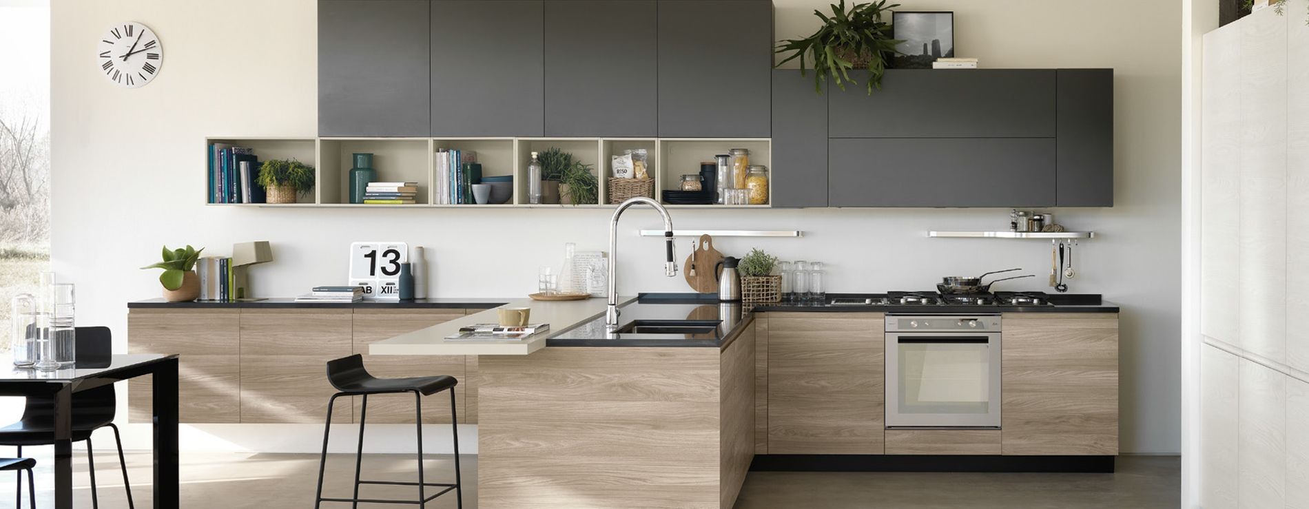 Cucina Scavolini Motus: un perfetto esempio di design applicato ad ...
