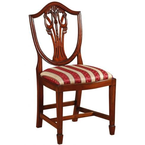 Mahogany Hepplewhite Style Dining Chair   Regency Furniture For Delivery    Brights Of Nettlebed