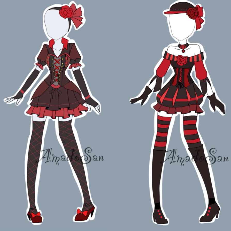 Victorian Outfits Adoptables CLOSED by AS,Adoptables on DeviantArt