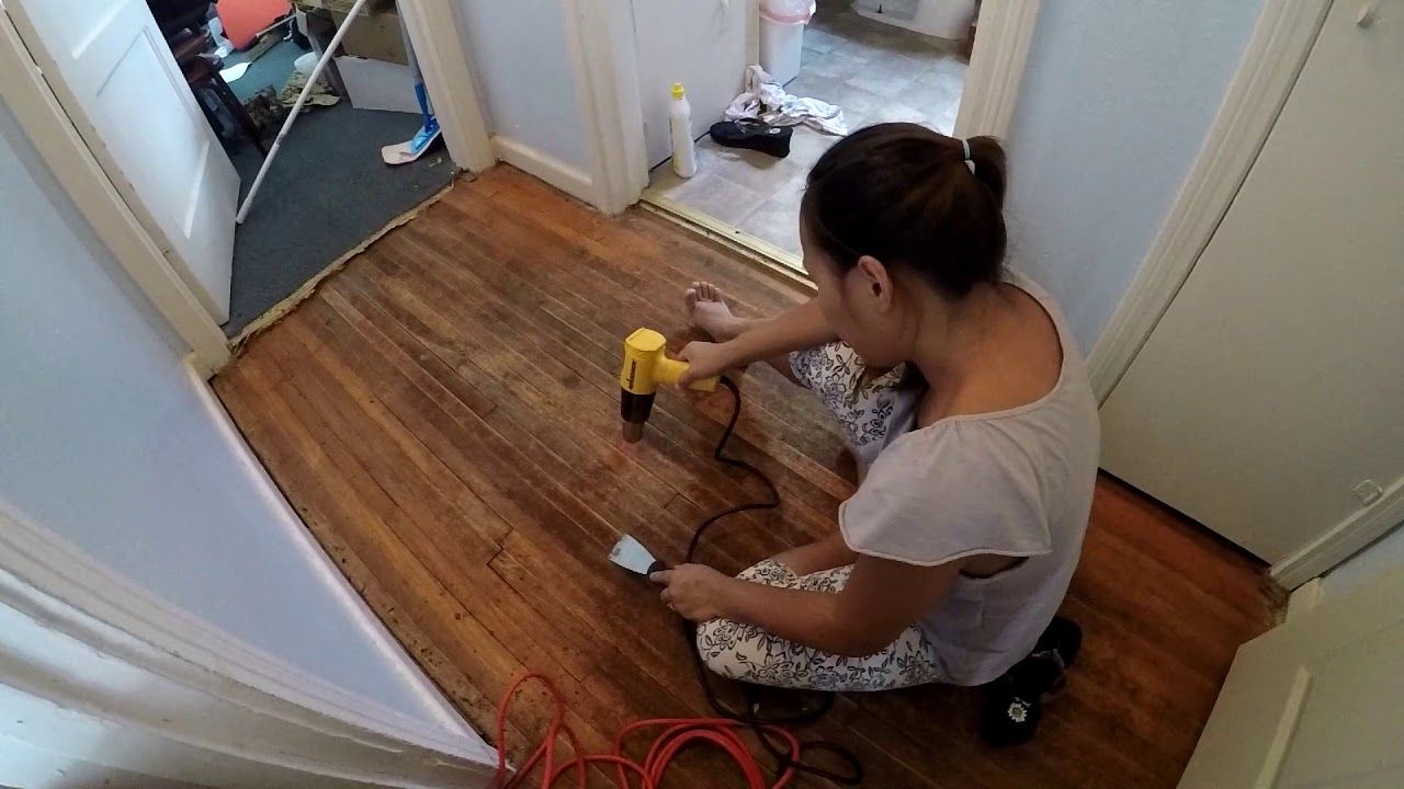 Best Of Removing Carpet Adhesive From Wood Floor And View Removing Carpet Flooring Installing Laminate Flooring