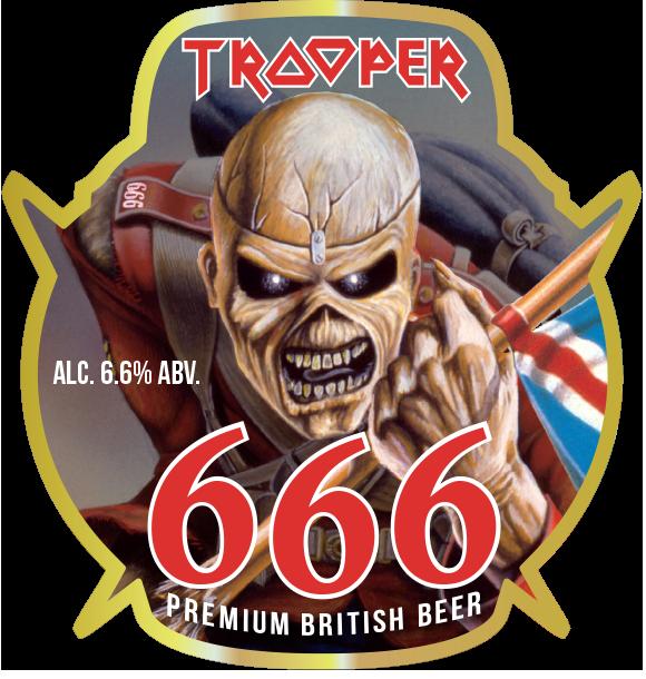 We Celebrate 10 Million Pints Of Trooper With A New Ltd Edition Brew Iron Maiden Albums Iron Maiden Iron Maiden Eddie