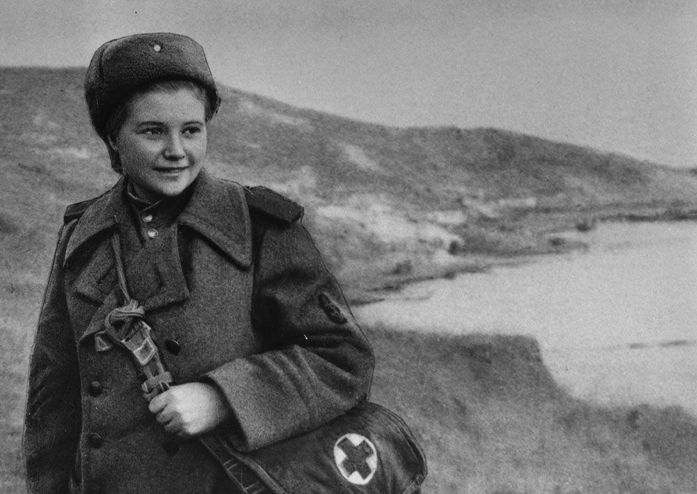 Image result for soviet nurse ww2