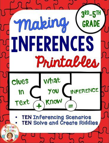 Making Inferences Passages No Prep Printable Making Inferences