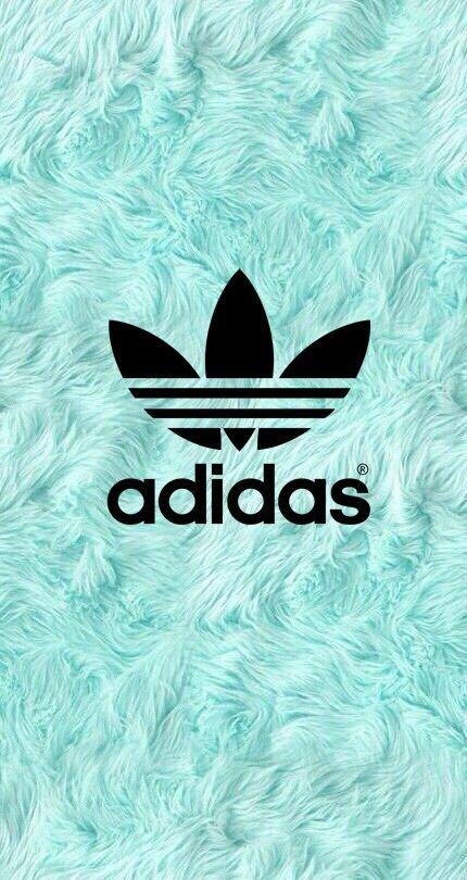 competitive price 2919d 1de5b Fondo de pelo azul con logo de adidas  adidas  fondodeadidas