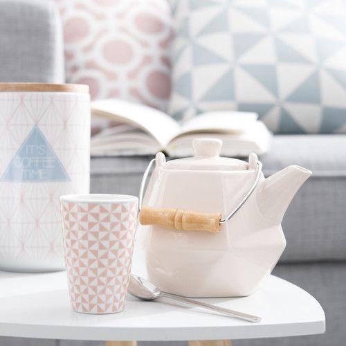 tasse caf en porcelaine corail g om trik clay pinterest vajillas te mereces and la. Black Bedroom Furniture Sets. Home Design Ideas