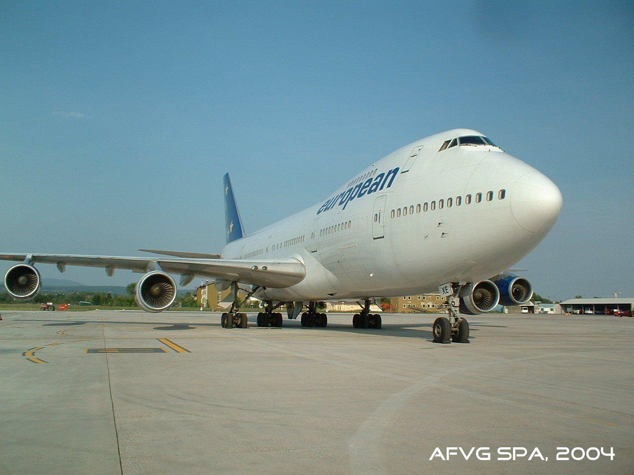 BOEING B747200. European Aviation Air Charter, 052004