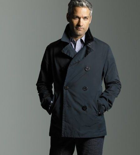 mens pea coat jcpenney | 4-3/ Outfit w Guys | Pinterest