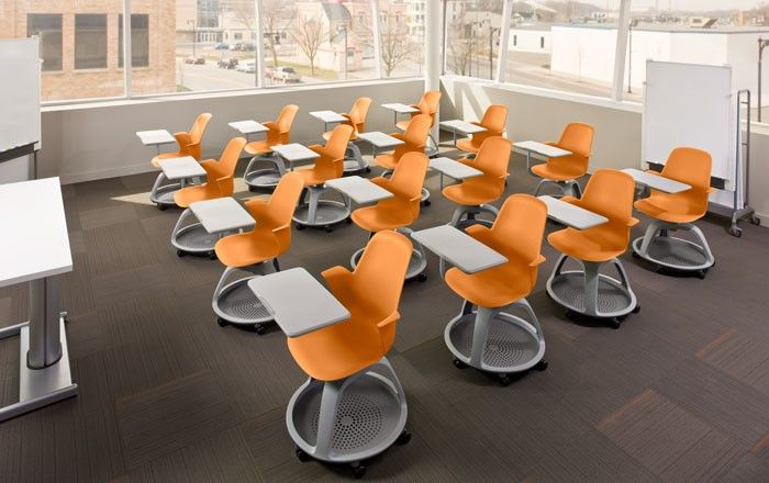 The Node Clroom Chairs By Steelcase Offer Mobility To Students Incorporating Wheels At Base And Bringing Flexibility Into Learning Environments