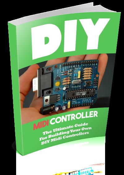 Book Prelaunch - DIY Midi Controller | Arduino midi in 2019 | Midi