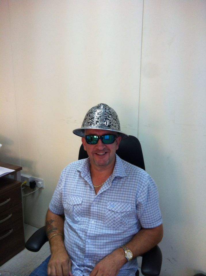 8ff630ae Engraved metal #hard #hat in action. engraved metal helmet for souvenirs or  gift with #Oilfield, #mining or custom engraved, For inquiry and further ...