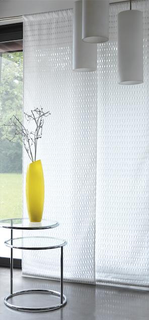 Collection glamour luxe pr cieux design pur e voilage blanc transparence fenetres - Decoratie epuree salon ...