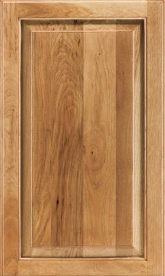 Hickory cabinet door by Waypoint, Hickory Spice finish | Kitchen ...