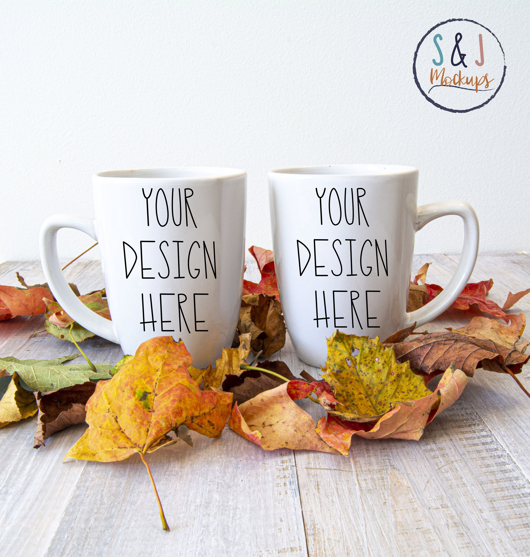 Coffee Mug Mockup Tea Cup Mockup Two Coffee Cups Mockup Etsy Mugs Tea Cups Mockup