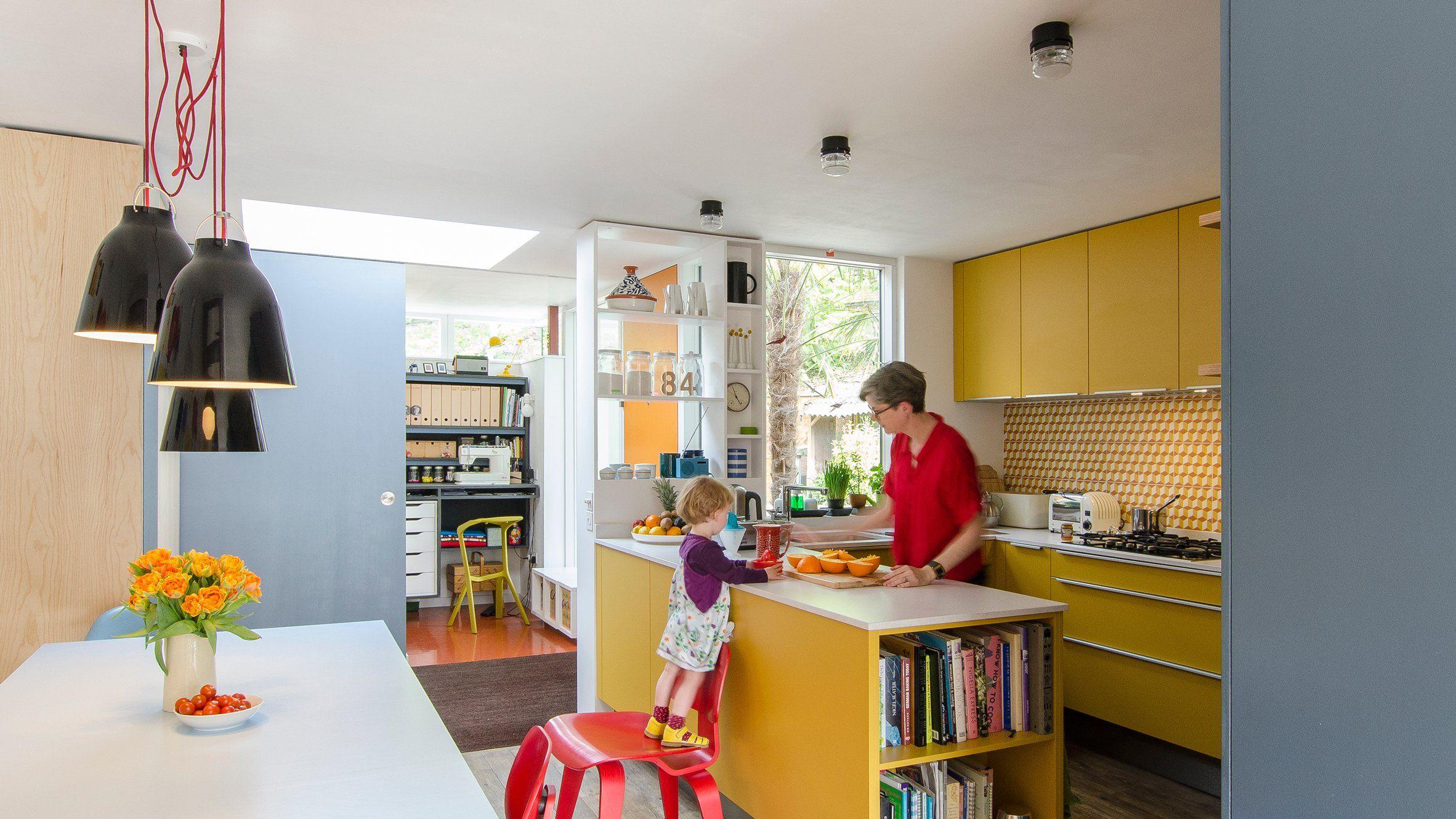 1960s Public Housing Gets Modern Revamp For London Family