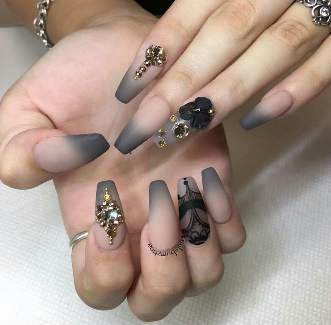 Matte Nails Gorgeous Nails Nail Art Designs Nail Designs