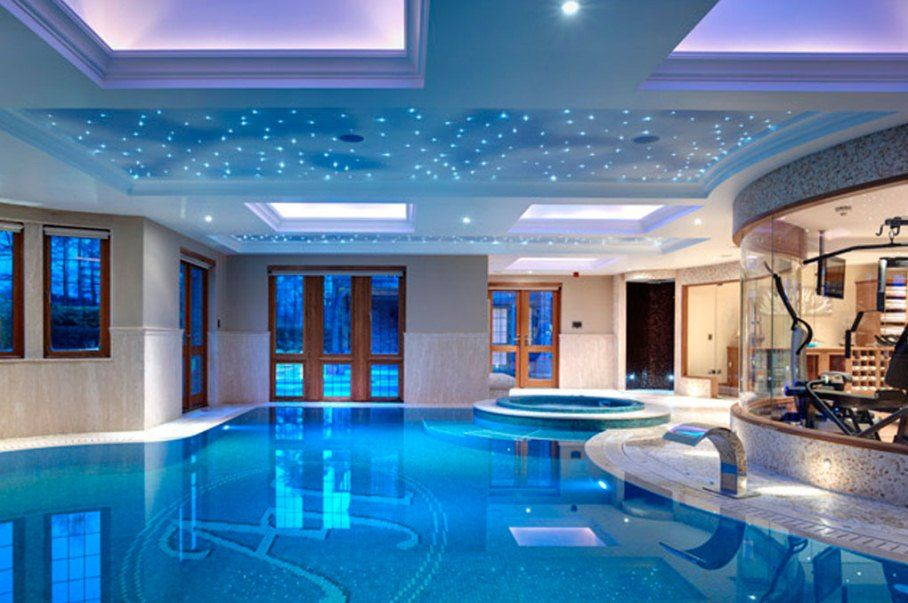 Beau Home Indoor Swimming Pools | Indoor Swimming Pool Photos Luxury Swimming  Pool For Ultra Modern .