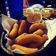 #hushpuppies #oakislandnc at Jones Seafood House