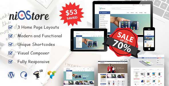 Estore - WooCommerce WordPress Theme | Website-Templates | Pinterest ...