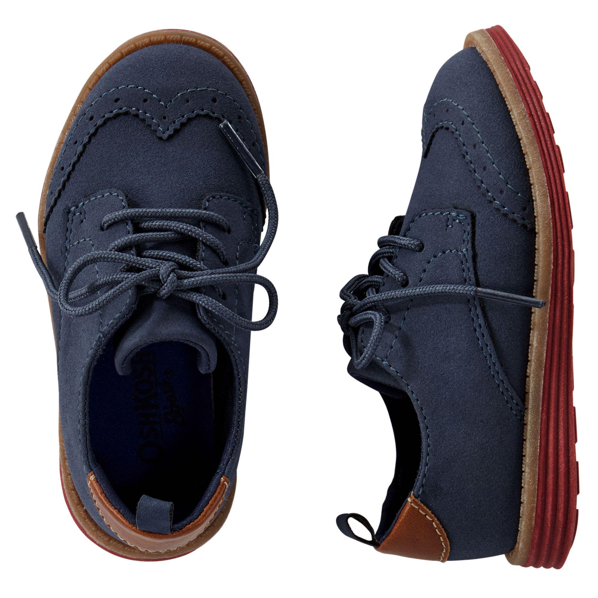 OshKosh Wingtip Oxfords | Boys dress shoes, Boy shoes, Baby boy shoes