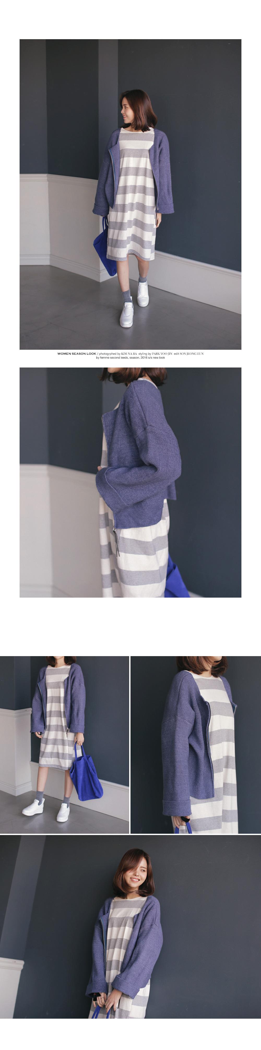 ボーダーミディ丈ワンピース・全3色ワンピース・スカートワンピース|レディースファッション通販 DHOLICディーホリック [ファストファッション 水着 ワンピース]