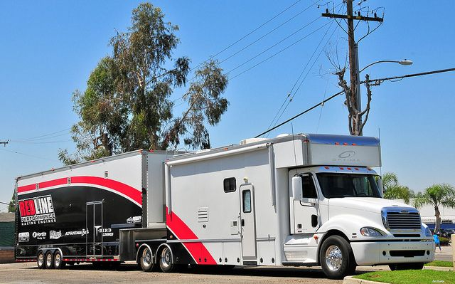 Freightliner Optima Race Car Hauler Rigs Cars And