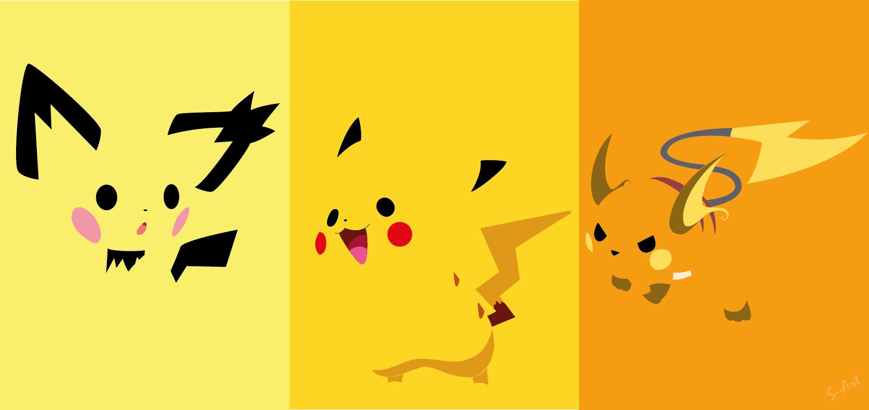 Pikachu Evolution Line By S Art On Deviantart Pikachu