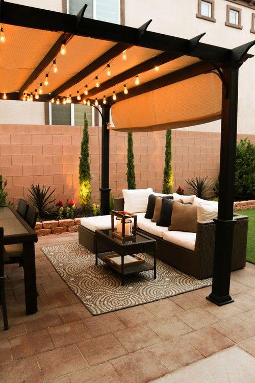 backyard transitional patio las vegas - # ...