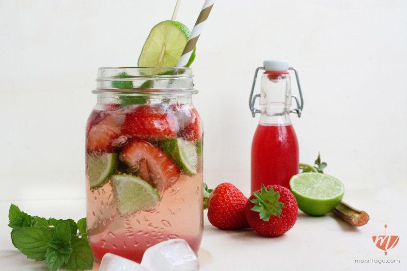 Rezept-Gin-Tonic-Rhababer-Erdbeere-Minze-Limette-Food-Blog-Day-Frankfurt-Mohntage-Blog-3