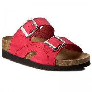 Klapki Scholl Moldava Wedge Ad F25081 1051 Red Birkenstock Shoes Sandals