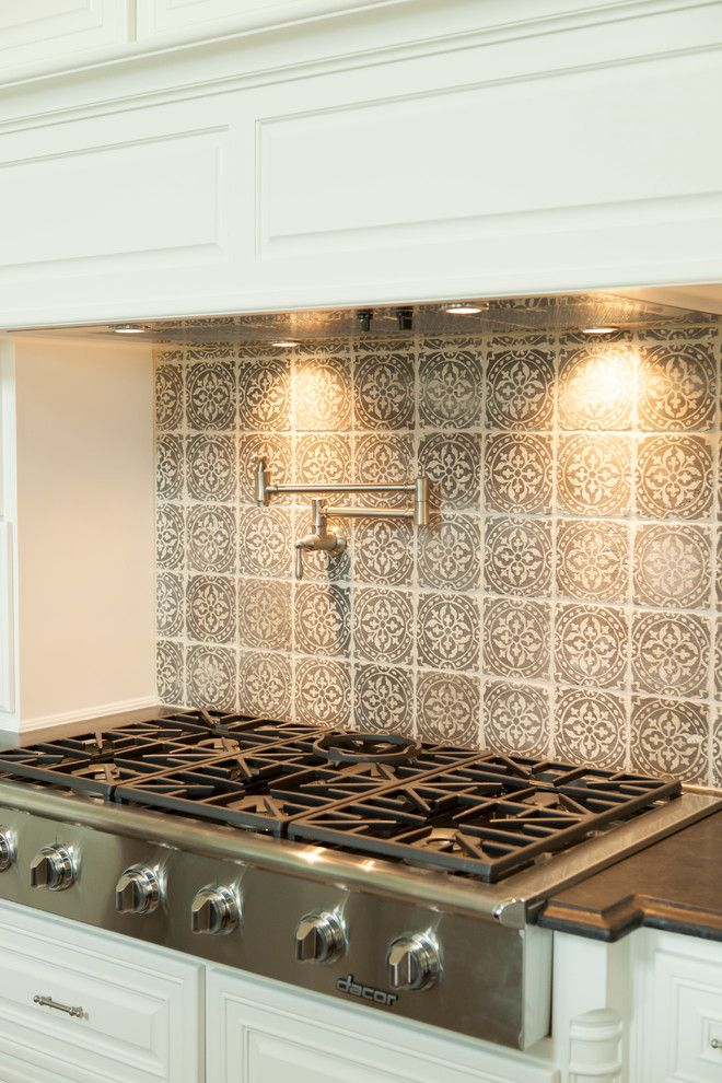 Glamorous Emser Tile In Kitchen Traditional With Kitchen