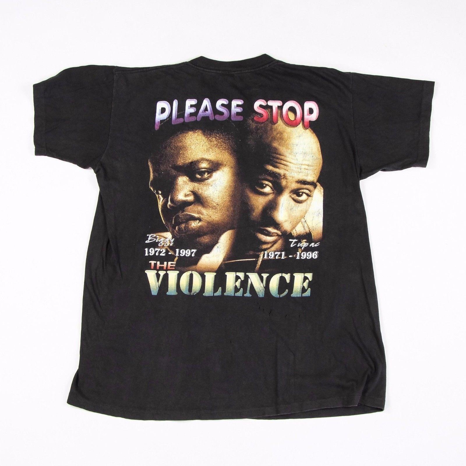 2pac t shirt ebay