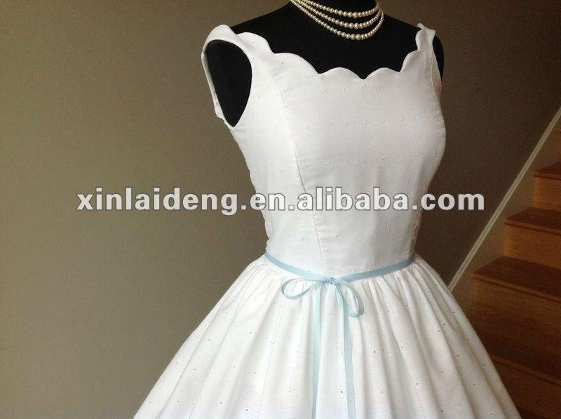 1950s Plus Size Wedding Dress