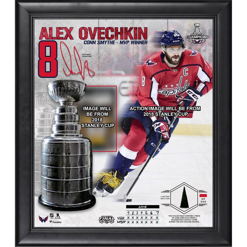 Alex Ovechkin Washington Capitals Fanatics Authentic Framed 15
