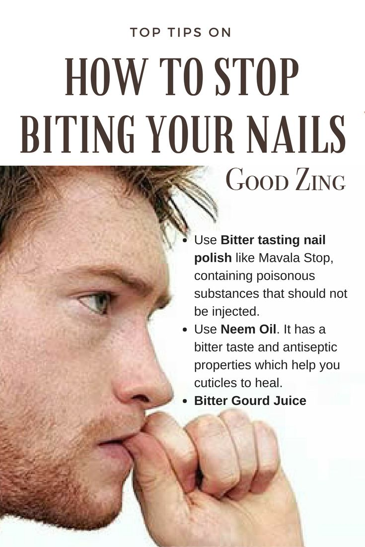 How To Stop Biting Nails The Best Remedies To Stop Biting