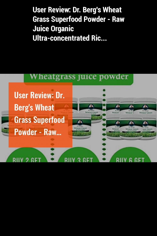 48++ Dr bergs wheat grass powder ideas in 2021
