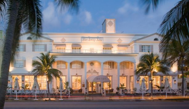 The Betsy Hotel Miami Beach S Plantationâ Style Facade Is Instantly Recognizable At A Quiet End Of Ocean Drive