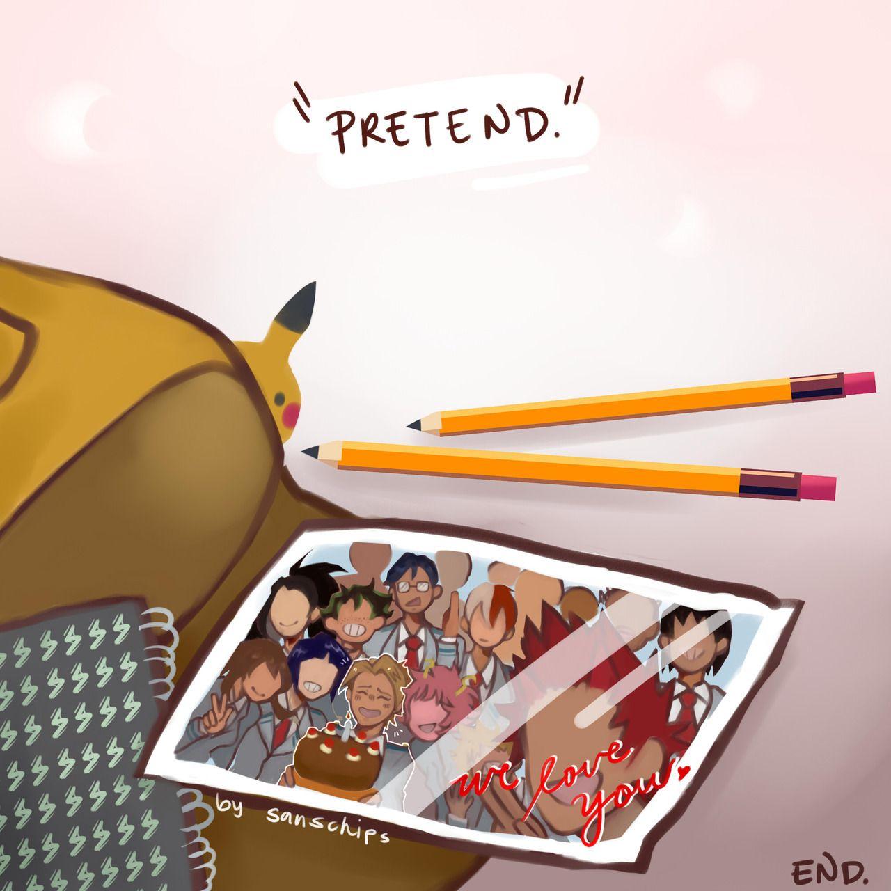I M Back Baby Traitor A Theory My Hero Human Pikachu My Hero Academia Manga