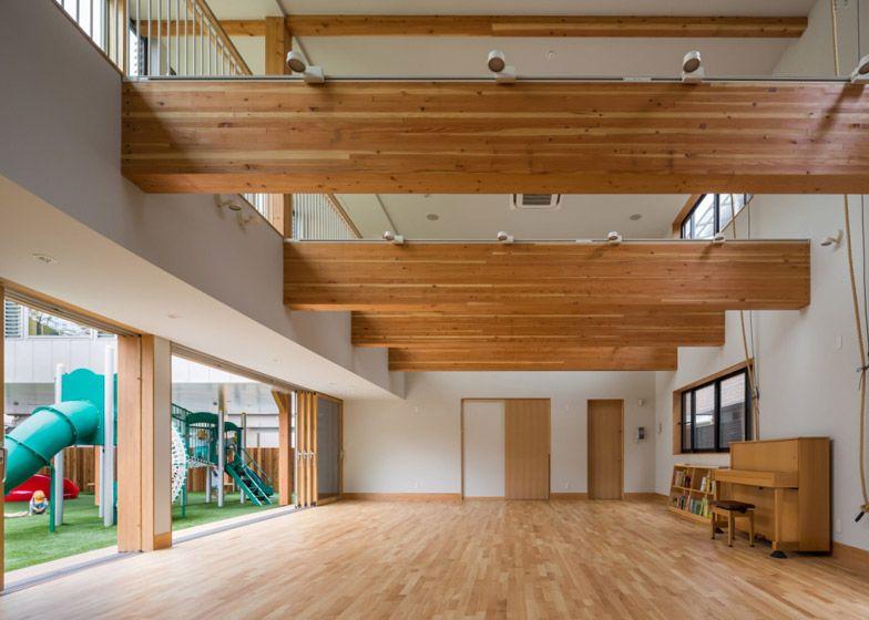Guardería Takeno, Kobe, Japón - Suga Architects Office - foto: Yoshiharu Matsumura