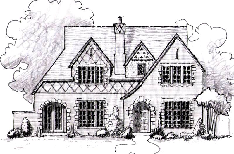 House Sketches dallas luxury home designs, custom residential homes | perspective