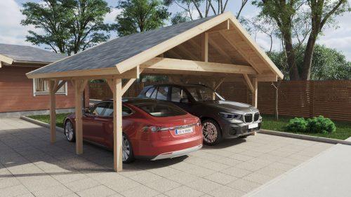 HolzCarport Henley XL 5 x 6 m in 2020 Wooden carports