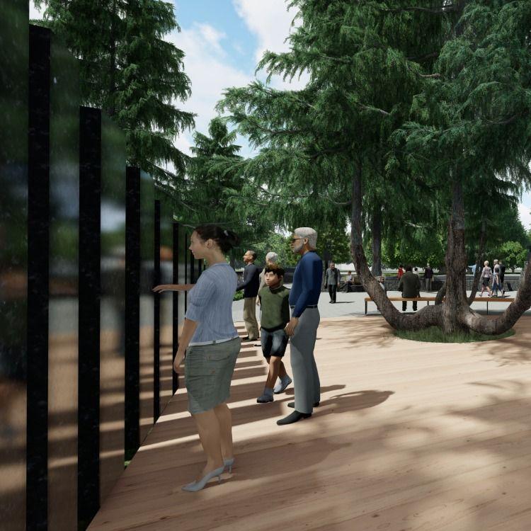 Greenworks Helps Visualize A New Vietnam Veterans Memorial At Oregon S Capitol Greenworks Vietnam Veterans Memorial Vietnam Veterans Vietnam War