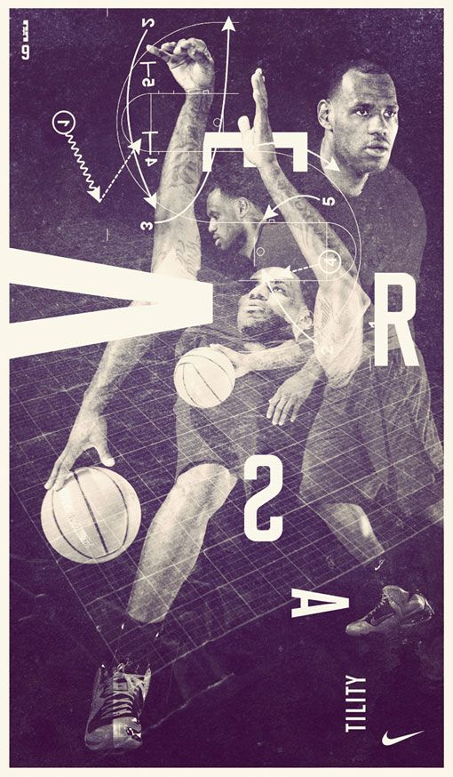 Adam: Nike Lebron 9Campaign Posters